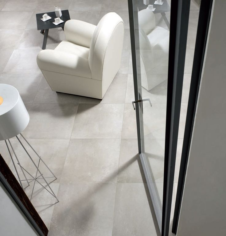 [ Younhyun Tile / 윤현상재 타일 ] Exposed Concrete Style Tile : Urban Concrete Fog / Size (cm) : 600X600