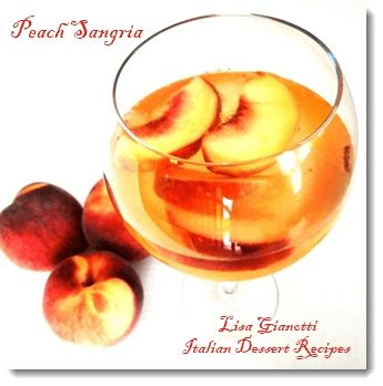 This peach sangria is one of those Italian drinks thats cheaper to make at home AND  tastes better than Olive Garden!See this and over 235 Italian dessert recipes with photos.