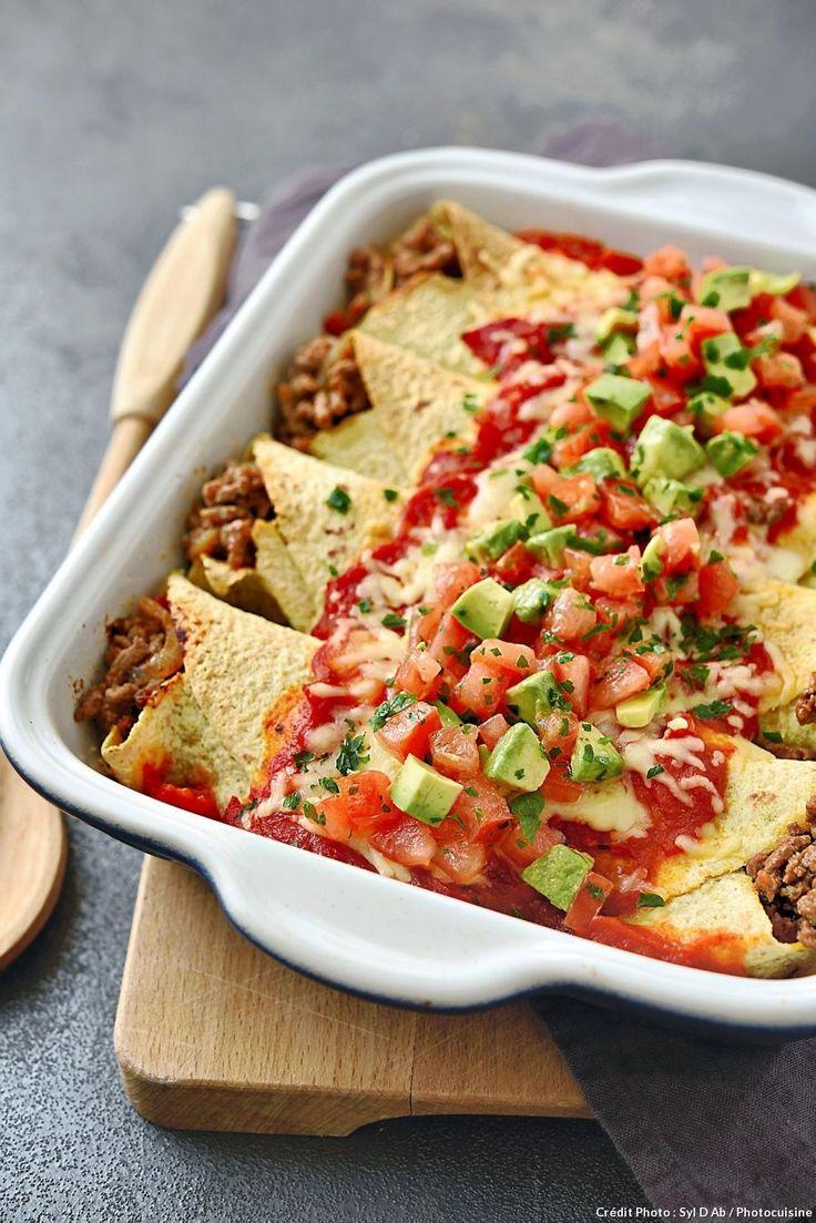 Enchiladas au boeuf – Découvrez comment réaliser facilement une recette d'ench…