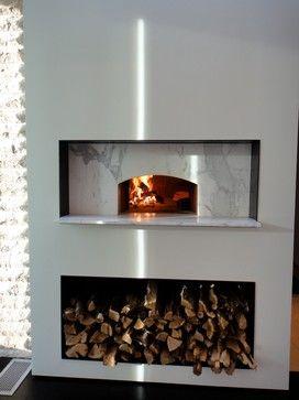 Mugnaini Indoor Wood Fired Ovens modern-ovens