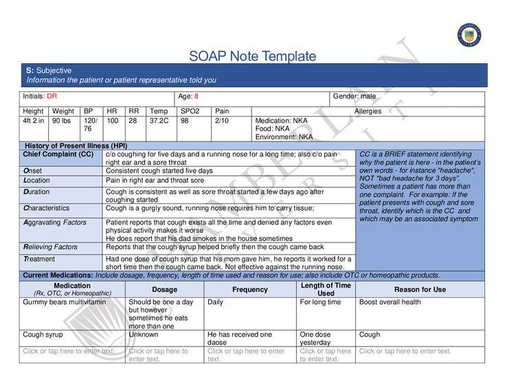 Chamberlain college of nursing nr 503nr509_soap_note