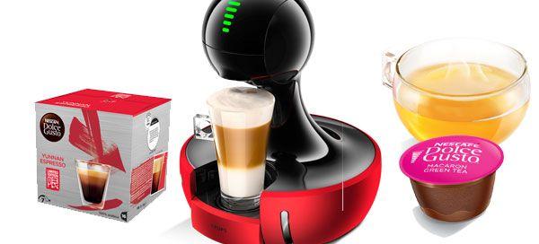 NESCAFÉ Dolce Gusto apresenta nova máquina Drop e novas variedades de café e chá