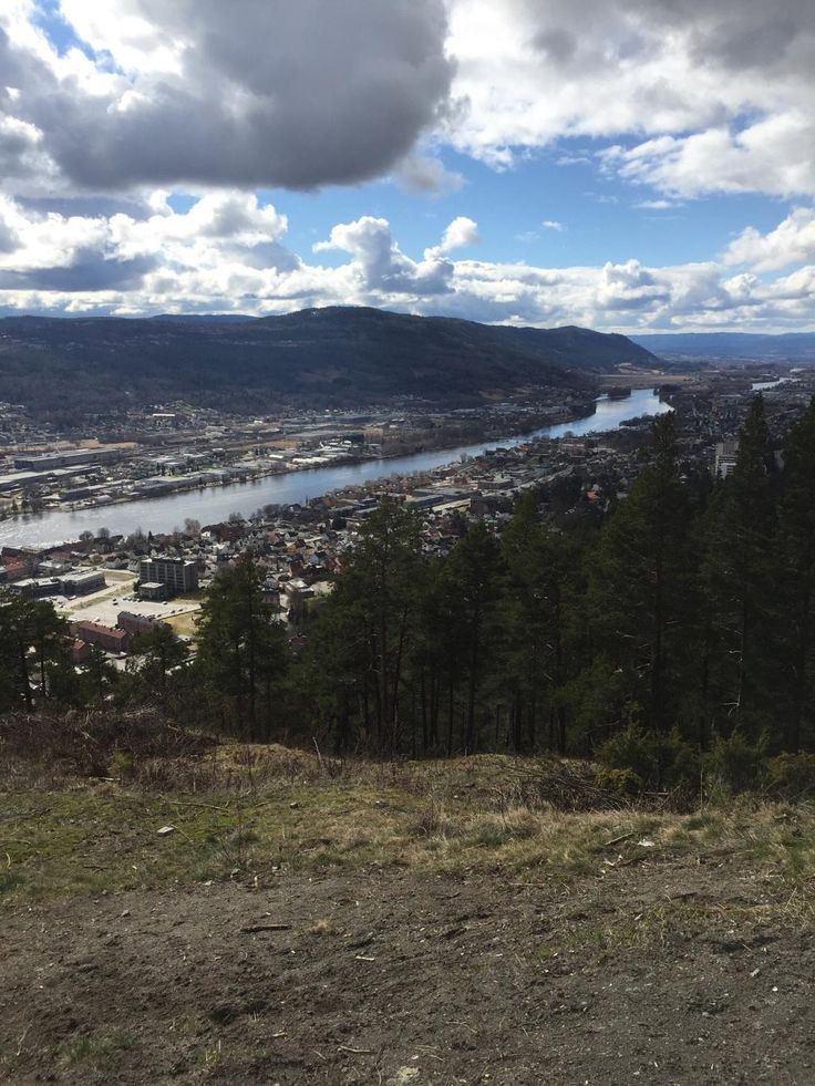 Spiralen (great city view, drive or hike) - Drammen, Norway