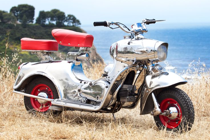My 1958 Rumi Formichino motor scooter. Shot in Palos Verdes, CA, by Shane O'Donnell photography.