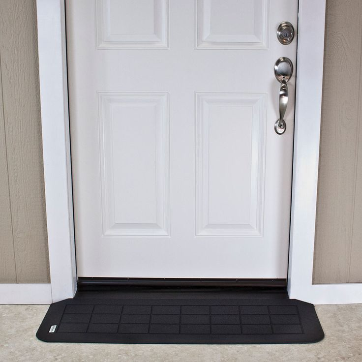 The company's first patented product, Safepath™ EZ Edge™ ramps are most often used for door thresholds, entry ways or for any path requiring a