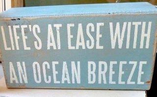 beach wood sign (for beach themed bdrm)