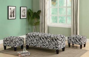 zebra ottoman #uhome