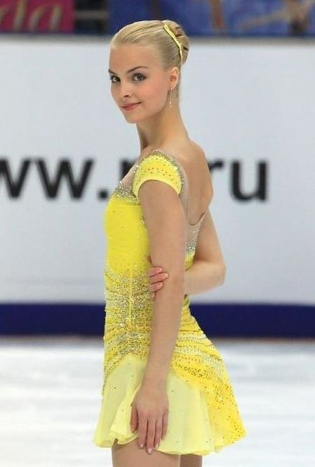 33 best images about Yellow Figure Skating / Ice Skating Dresses ...