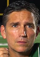 Jim Caviezel as De La Salle Spartans Coach Bob Ladouceur in the When the Game Stands Tall movie. Learn more about the facts and the fiction in When the Game Stands Tall: http://www.historyvshollywood.com/reelfaces/when-the-game-stands-tall/