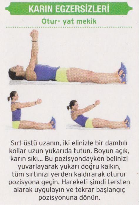 7 Günde Göbek Yağlarını Eriten Karın Egzersizleri | Kadın Sitesi - Part 10