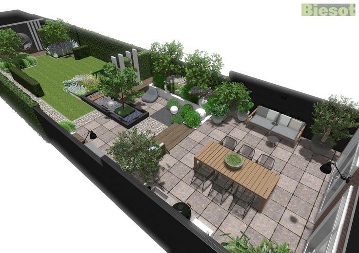 24 beste afbeeldingen van biesot 3d tuinontwerpen terras for Tuinontwerp heemstede
