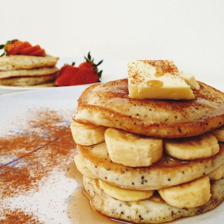 Poppy seed pancake | might come in handy someday | Pinterest