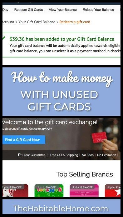 Did you ever get a gift card that you knew you wouldn't use for a while? You know, the one that has been sitting in your junk drawer for the last 3 years?  I'm going to let you in on a secret that can help you exchange your unused gift card for an Amazon Gift Card or Cash.