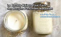 Les bougies parfumées sont un joli élément de décor. En plus, ça sent bon !  Malheureusement, elles sont souvent très chères. Voilà pourquoi je suis super contente d'avoir trouvé une alternative plus économique et plus écologique : les fabriquer moi-même sans produit chimique ! Découvrez l'astuce ici : http://www.comment-economiser.fr/comment-faire-bougies-parfumees-naturelles-maison.html?utm_content=buffer65871&utm_medium=social&utm_source=pinterest.com&utm_campaign=buffer