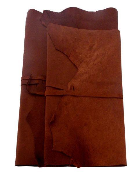 Soft leather wrap style journal - great for personalising #travel #boundinbendigo