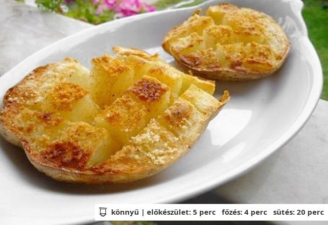 Gyors sült krumpli   NOSALTY – receptek képekkel