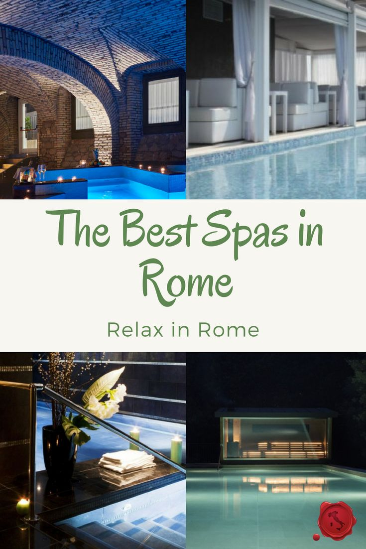 Are you looking for a Spa break to de-stress your mind and relax your feet while you're visiting Rome? Here are the best spas in Rome for a quick massage in between your tours or for a longer spa weekend outside of Rome. #iliveitaly #spas #rome