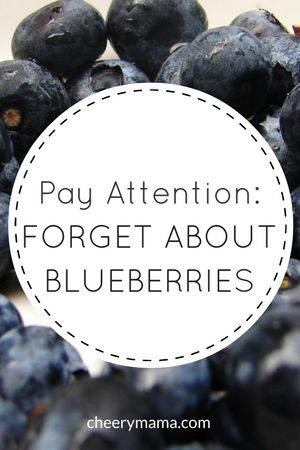 A Video about Forgetting Blueberries... -
