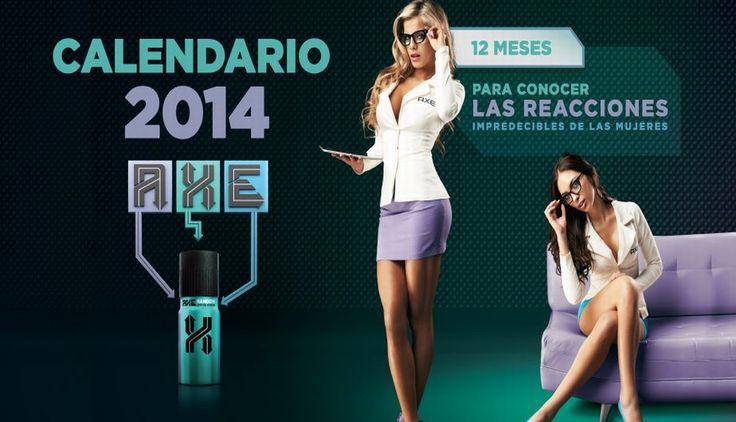#AlejandraBaigorria y #NatalieVertiz presentes en el sexy calendario #AXE. #trome