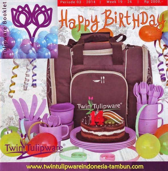 Booklet Twin #Tulipware Mei - Juni 2014   Twin Tulipware SC. Tambun