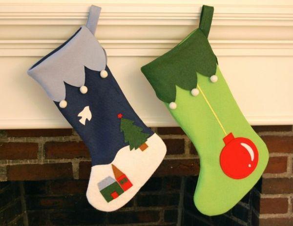 weihnachten nikolaus stiefel basteln