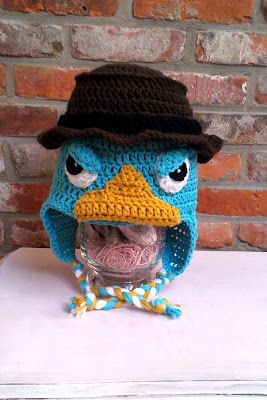 Perry het vogelbekdier muts / Perry the Platypus hat