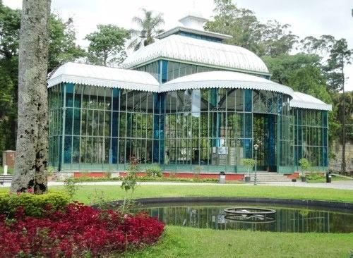Rio de Janeiro - Petrópolis -  Palacio de Cristal