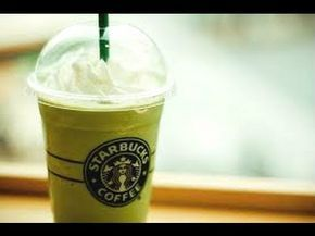 DIY Starbucks drinks - DIY Starbucks Green Tea Frappuccino - Page 1 - Wattpad