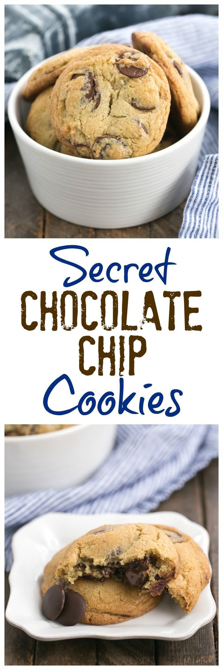 Jacques Torres Secret Chocolate Chip Cookies Truly the BEST chocolate chip cookie recipe! @lizzydo