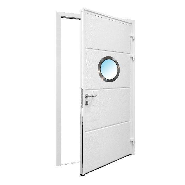 Carteck Garage Doors, Sectional, Pedestrian, Insulated Side Hinged Garage Doors | UK