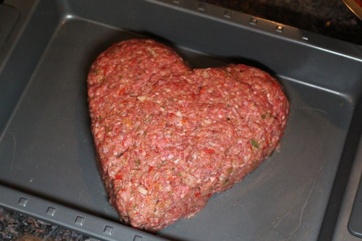 Day 8  Valentine Tradition..  Heart shaped meatloaf and pink mashed potatoes!  Just a little pink or red food color does the job.