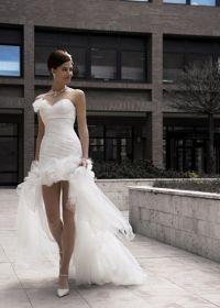 Robes de mariée court devant long derrière - Robes de mariée et ...
