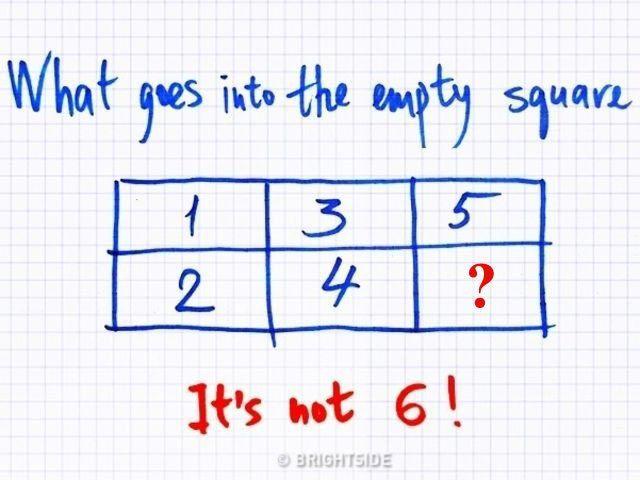 لغز إن وجدت حله الصحيح فاعلم أنك عبقري Math Gees