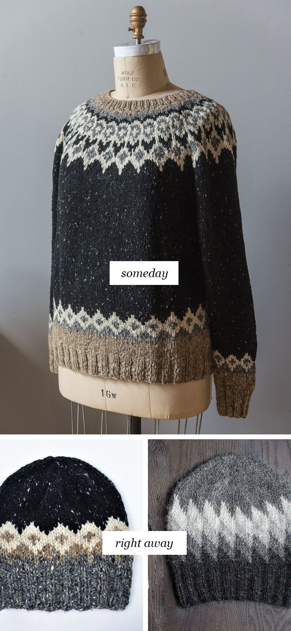 Someday vs. Right Away: A spot of colorwork