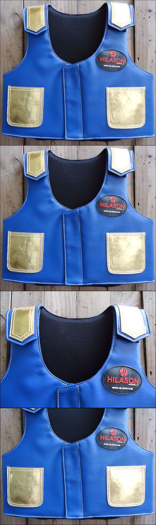 Other Protective Gear 87446: Pv812ya Hilason Kids Junior Youth Horse Riding Pro Rodeo Leather Protective Vest -> BUY IT NOW ONLY: $79.95 on eBay!
