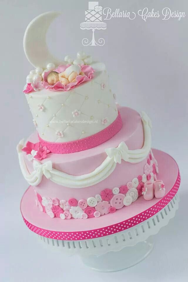 Baby shower cake.