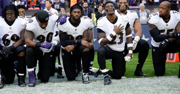 N.F.L. Live: Ravens and Jaguars Show Unity After Trump Comments - The New York Times