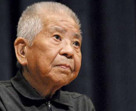 93-year old Tsutomu Yamaguchi was recognized as the first survivor of both the Nagasaki and Hiroshima atomic bomb droppings of 1945.