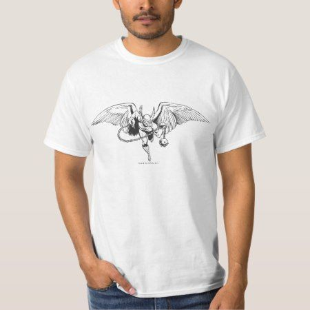 Hawkman Flying Outline T-Shirt - click/tap to personalize and buy