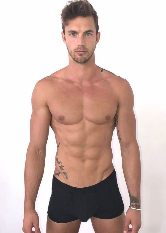 Christian Hogue, Men's Fashion, Male Model, Good Looking, Beautiful Man, Guy, Handsome, Hot, Sexy, Eye Candy, Muscle, Hunk, Abs, Six Pack, Bulge, Fitness, Shirtless, Tattoo クリスチャン・ホーグ メンズファッション 男性モデル フィットネス #sixpackabs