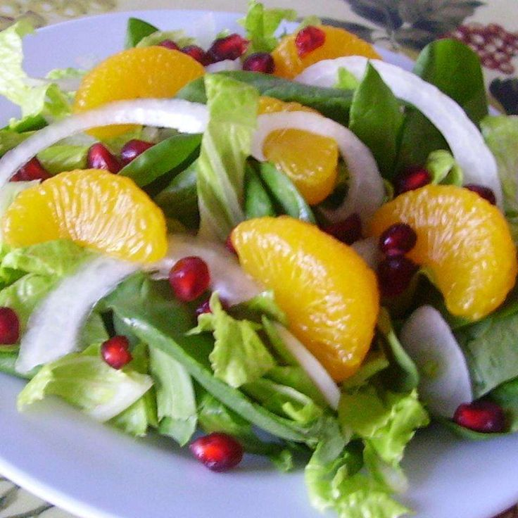 Simple, delicious and colourful - add Spinach and Pomegranate Salad to your Christmas feast table.