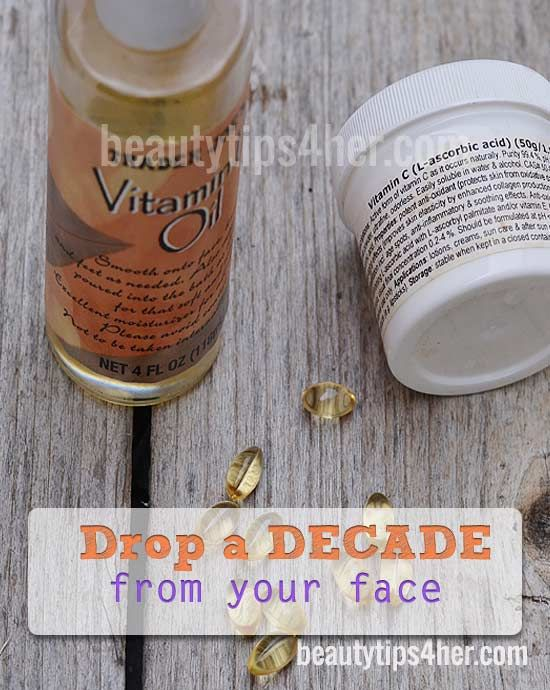 Post from: beautytips4her.com    If you're trying to look younger, drop those expensive creams and serums that are packed with chemicals. There's a natural way that you can easily drop a decade from your face. The answer