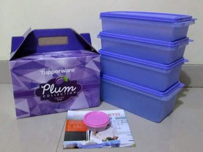 TOKO TUPPERWARE ONLINE : Tupperware Plum Collection Promo