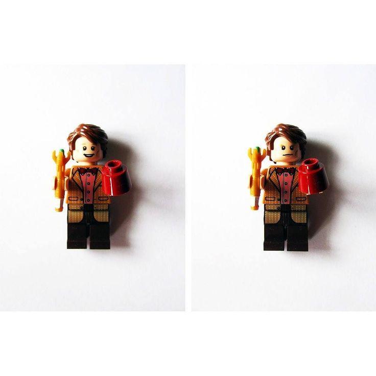#МэттСмит здорового человека Мэтт Смит курильщика.  #bbc #doctorwho #dw #mattsmith #11thdoctor #whovian #lego #legodimensions #legominifigures #legostagram by countess_pudding