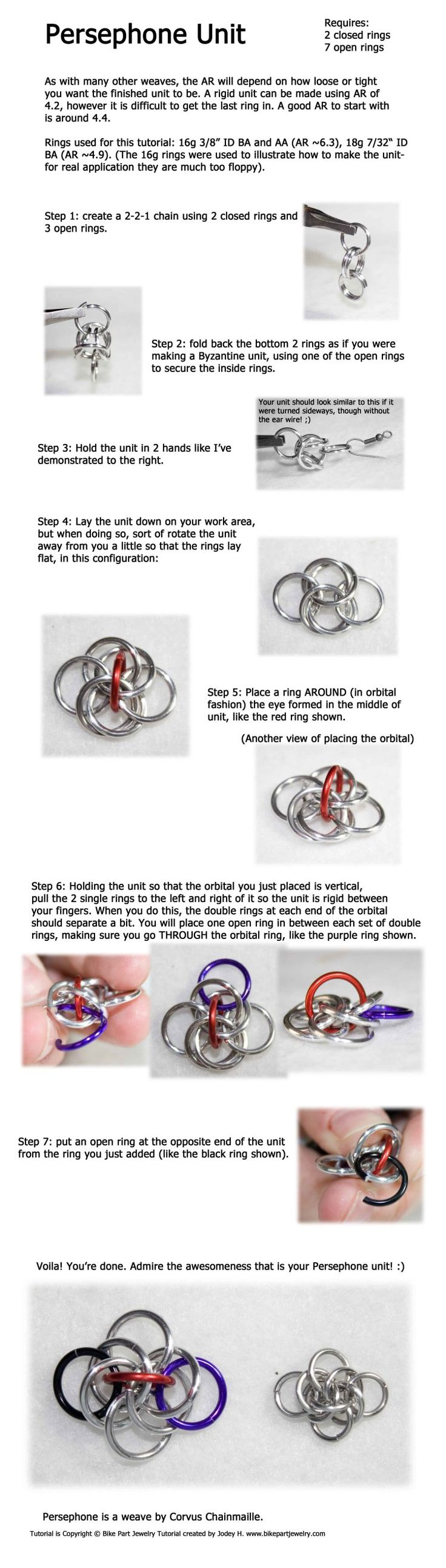 438 best Wire Chain images on Pinterest | Chainmaille, Jewellery ...