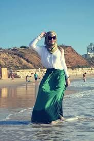 hijab on summer