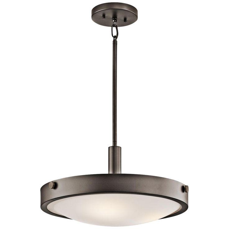 "Kichler Lytham 17 1/2"" Wide Olde Bronze Pendant Light - Style # 2F664"