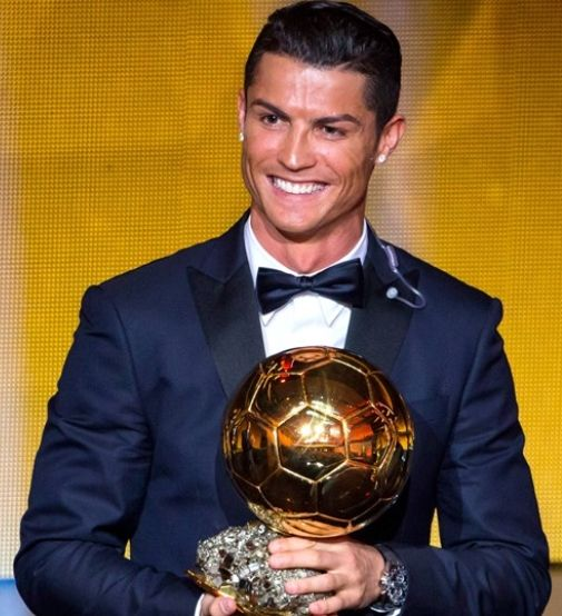 Cristino Ronaldo winner of Ballon D'Or 2014 http://rosaaffair.blogspot.pt/2015/01/ronaldo-is-best.html