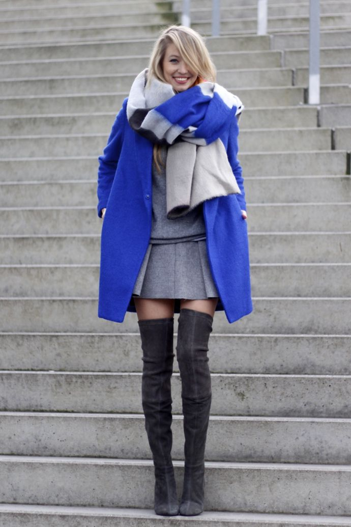 'Winter Blues Volume 1' outfit via Ohh Couture #LeonieHanne