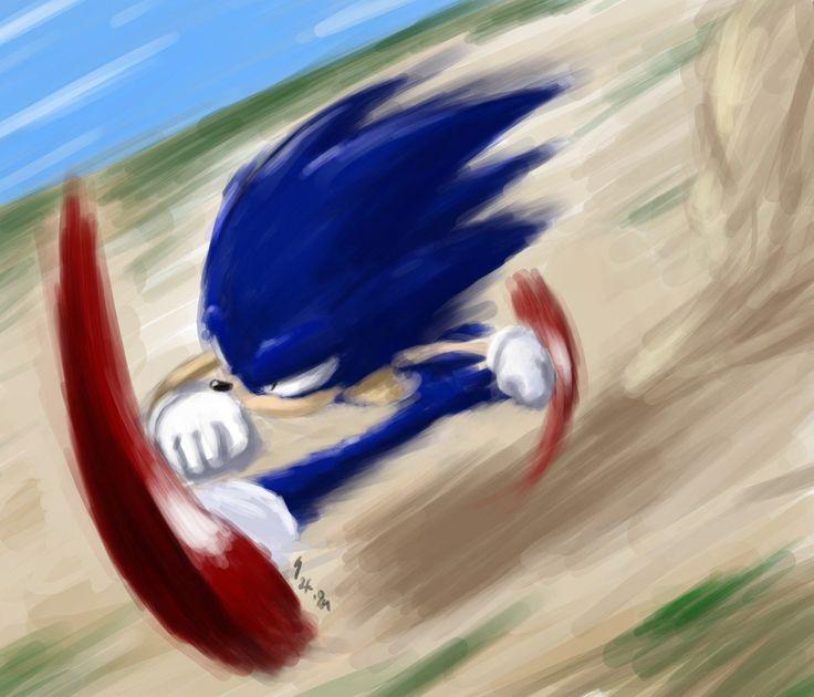 blue blur by gts.deviantart.com on @DeviantArt